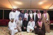 الجبرين يحتفل بزواج نجليه احمد وناصر