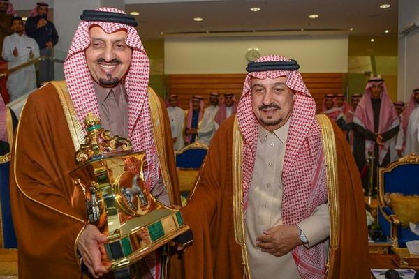 سمو أمير منطقة الرياض يرعى حفل سباق نادي الفروسية السنوي على كأسي خادم الحرمين الشريفين لخيل الإنتاج والمستورد